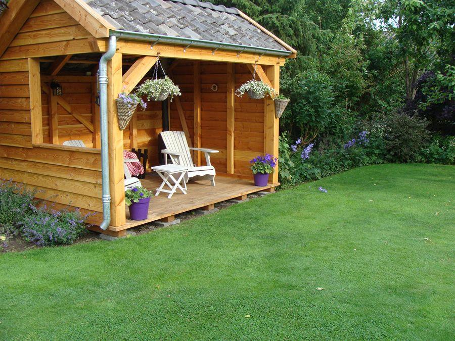 Veranda schutting vlonder - Prieel tuin ...